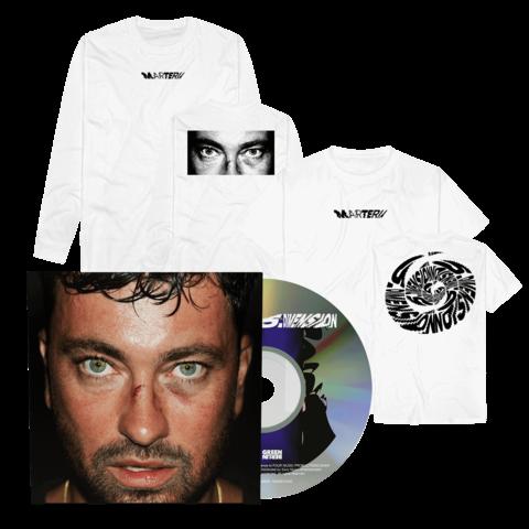 5. Dimension (Digipack + T-Shirt + Longsleeve) by Marteria - CD-Bundle - shop now at Marteria 5te Dimension store