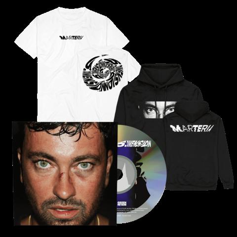 5. Dimension (Digipack + T-Shirt + Hoodie) by Marteria - CD-Bundle - shop now at Marteria 5te Dimension store